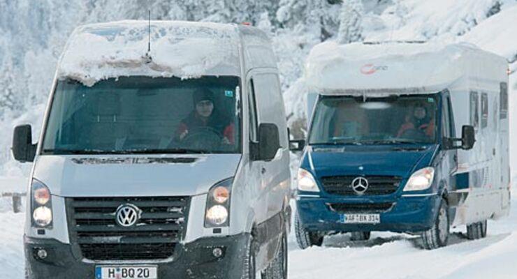 ACE, Winterreifen, Reisemobil, wohnmobil, caravan, wohnwagen