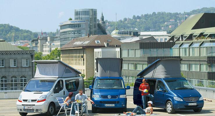 Adria 3Way - Mercedes Marco Polo - VW California