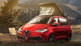 Alfa Romeo als Camper - Designstudie