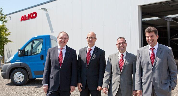 Alko erweitert die AMC-Chassis-Fertigung und nimmt eine neue Produktions- und Lagerhalle in Ettenbeuren in Betrieb