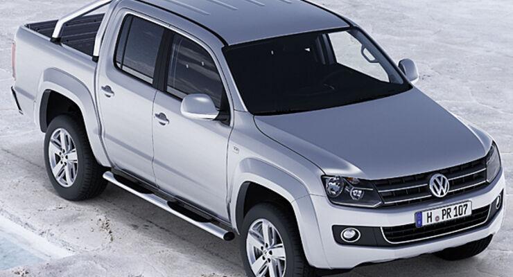 Amarok Pickup Wohnwagen Caravan VW Reisemonil Wohnmobil Zugwagen