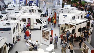 """Auf der CMT in Stuttgart feiern vier neue Aktionsmodelle Premiere: die Fahrzeuge der """"Spring-Edition""""."""