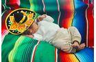 Baby Levi kam während der Panamericana-Tour in Mexiko zur Welt.