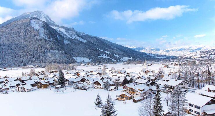 Bad Hindelang in den Allgäuer Alpen