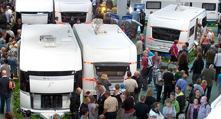 Bereits auf dem Caravan Salon konnte Hobby ein Plus von circa 20 Prozent bei den Wohnwagenverkäufen verbuchen.