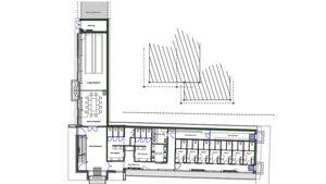 Bereits im Herbst 2012 haben die Arbeiten begonnen. Die Sanitäranlage Nr. 3 aus Betonfertigteilen, Holz und Glas wird im März/April errichtet.