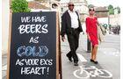 Bier wird nicht überall in UK zimmerwarm getrunken.