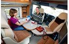 Bürstner Aero Van t 700 Sitzbereich