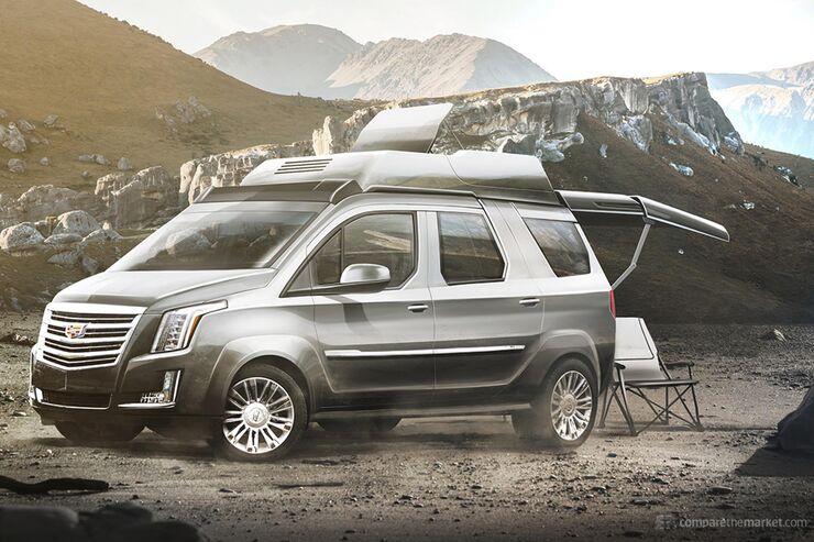 Cadillac als Camper - Designstudie