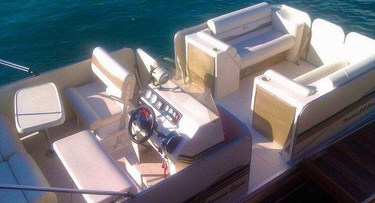 Camping Lago di Lévico im Trentin/Italien weitet in der Saison 2013 das touristische Angebot aus: mit einem Pendelboot zum Badestrand.