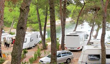 Campingplatz Cikat in Kroatien