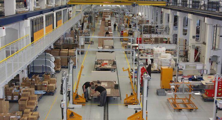 Capron Werk in Neustadt/Sachsen eröffnet zweite Produktionslinie