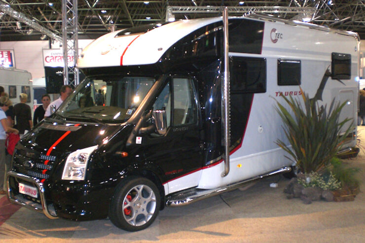 Caravan Salon 2008 TEC Taurus 4x4 Wohnmobile Reisemobile Allrad promobil