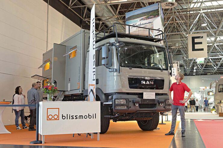 Caravan Salon Allradmobile Bliss Mobil