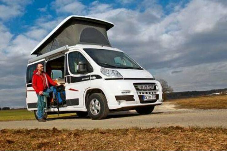 Caravan-Salon: Campingbusse