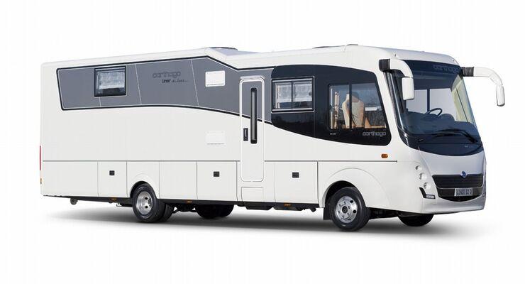 Carthago bietet auf dem Caravan Salon Probefahrten und ein Gewinnspiel mit Carthago-Reisemobilen der Chic-c-line-Serie an.