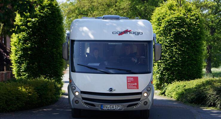 Carthago lädt aktive Reisemobilbesitzer zu monatlichen Aktionstagen ein. Das Programm dauert einen knappen Tag.
