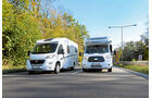 Chausson Flash 617 / Dethleffs Advantage T 6611 Frontansicht