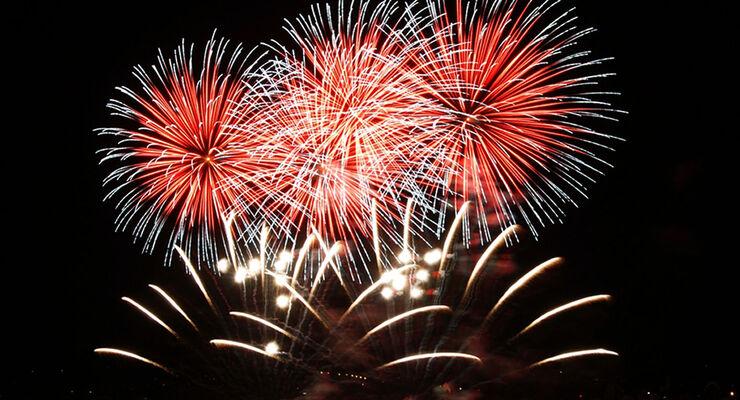Das Konstanzer Seenachtsfest lockt seit 65 Jahren jeweil am zwiten August-Wochenende Besucher aus nah und fern an den Bodensee. Highlight ist das halbstündige Seefeuerwerk am nächtlichen Himmel.