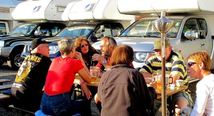 Das diesjährige Tischer-Treffen am Himmelfahrts-Wochenende in Alland in der Nähe von Wien bot ein buntes Programm.
