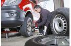 Der Direktvergleich der Reifen am identischen Fahrzeug ist nur durch häufige Räderwechsel möglich
