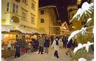 Der Kitzbueheler Weihnachtsmarkt.