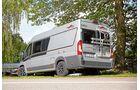 Der Malibu Van 640 LE bietet kompakten Reisekomfort, einen intelligenten Grundriss und ein pfiffiges Bad
