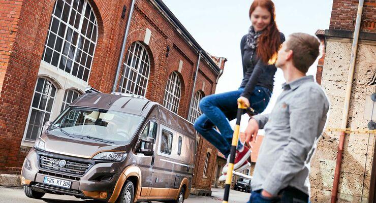 Der Plus soll Käufer überzeugen, die auch bei einem Campingbus nicht auf LUXUS UND EXKLUSIVITÄT verzichten wollen.