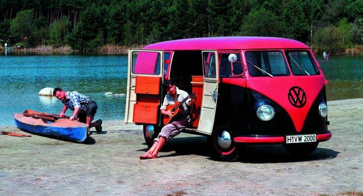 Der VW California legt in den ersten sieben Monaten 2011 bei Auslieferungen an Kunden 33 Prozent zu