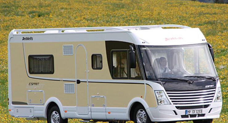 Dethleffs, Reisemobil, wohnmobil, caravan, wohnwagen