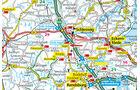 Die Karte von Schleswig