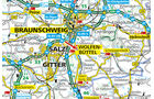 Die Karte von Wolfenbüttel