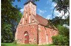 Die Kirchen in Bergen, Altenkirchen, Waase und Landow zählen zu den ältesten Bauwerken Mecklenburg-Vorpommerns.
