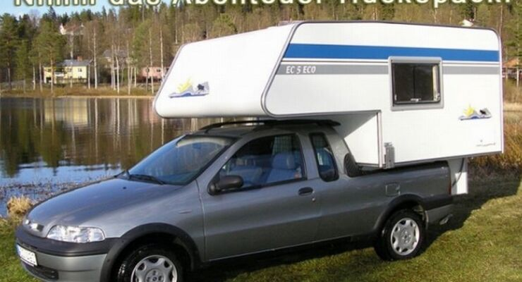 Die Nordstar-Wohnkabine für den neuen VW Amarok feiert auf dem diesjährigen Caravan Salon Premiere