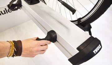 fahrradtr ger thule velo slide und cavus von linnepe im. Black Bedroom Furniture Sets. Home Design Ideas