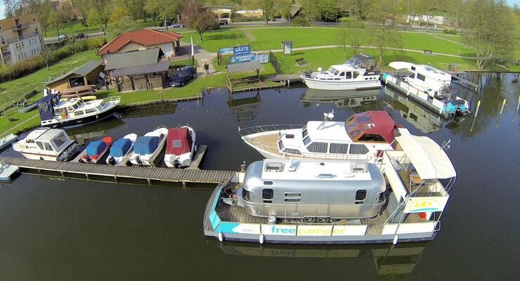 Die freecamper boot & camping GmbH bietet neue Services auf ihrer Website www.freecamper.de an. Dort werden Übersichtskarten mit Angelgewässern sowie Brückenhöhen zur Verfügung gestellt.