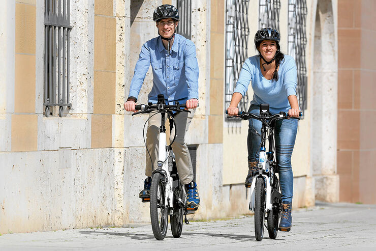 hymer und knaus e bikes im test mobilit tsgarantie promobil. Black Bedroom Furniture Sets. Home Design Ideas