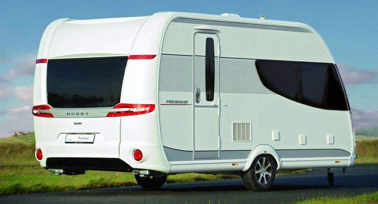 Ein Hobby Premium 440 SFr im Wert von über 18.000 Euro ist dieses Jahr im März der Hauptpreis beim Happy Hobby Weekend