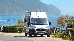 Elba, die kleine Insel, scheint wie gemacht für Campingbusse wie den Globecar.