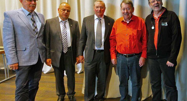 Euro Motorhome Club - EMHC-Vorstand 2015
