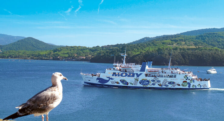 Fähre Moby Baby für Elba-Verkehr