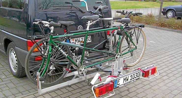 Fahrradträger für Wohnmobile