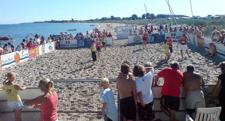 Flens Beach Soccer Cup 2014 auf dem Wulfener Hals