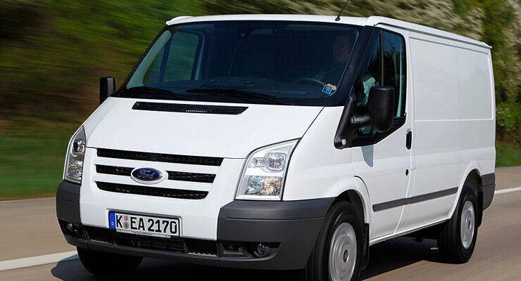 Ford Transit 2012 kommt mit neuen Motoren, niedrigeren Betriebskosten und gesenkten Emissionen