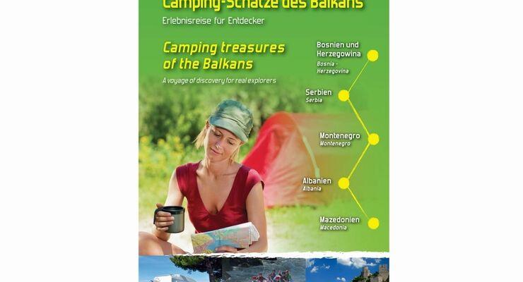 Fünf westliche Balkanländer traten erstmals gemeinsam als große Campingregion bei der Messe Tour Natur in Düsseldorf auf