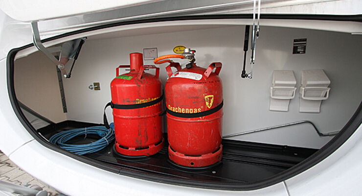 Gasflaschen Transport Reisemobil Schutzkappe Verschlussmutter