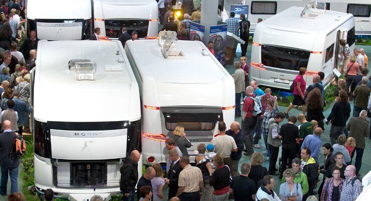 Gegenüber dem Vorjahr schloss Hobby den Caravan Salon mit einem Plus von rund 20 Prozent bei den Wohnwagenverkäufen ab