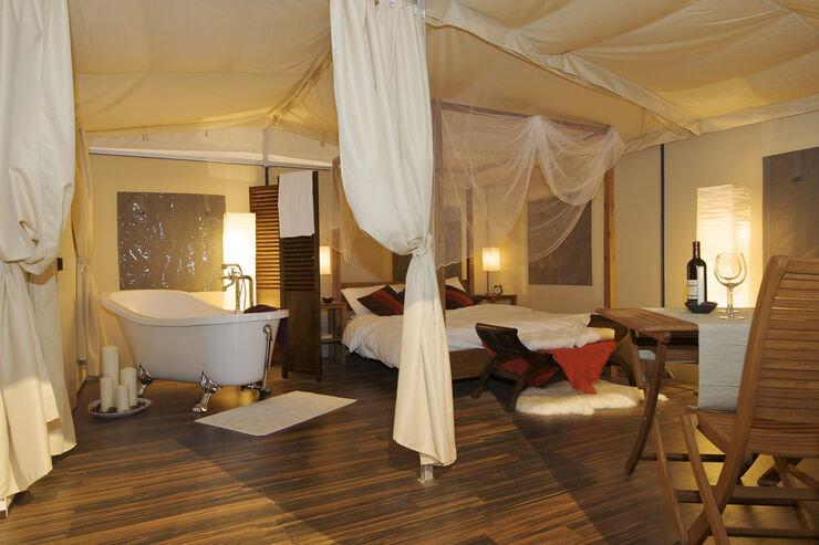 Glamping - Luxusplatz In Der Toskana: Camping Orlando In Chianti