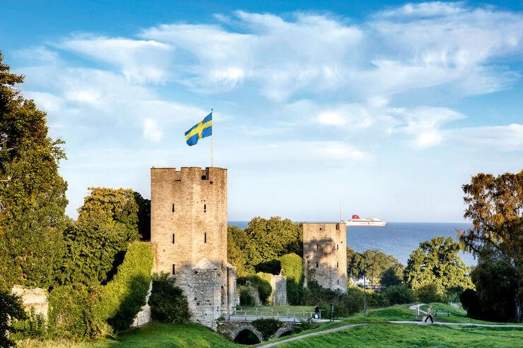 Gotlands Hauptstadt Visby.