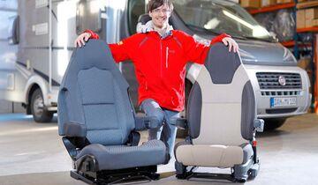 Häufig lassen sich komfortable PILOTENSITZE MIT ARMLEHNEN NACHRÜSTEN.